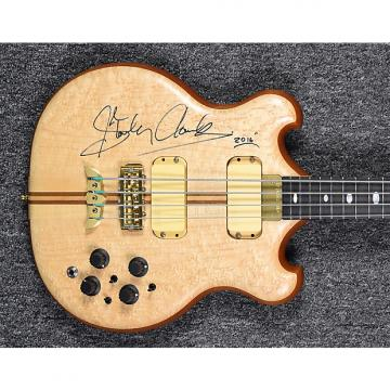 "Custom Alembic Stanley Clarke ""Retro"" Model 2016 Birdseye Maple"