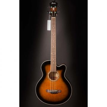 Custom Ibanez AEB10EDVS AE Acoustic Electric Bass Dark Violin Sunburst