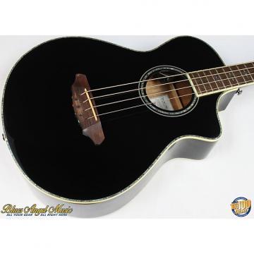 Custom Breedlove Atlas Series Black Magic B35 Acoustic-Electric Bass w/OHSC #37321