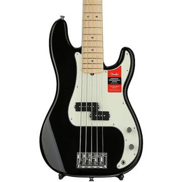Custom Fender American Professional Precision Bass V - Black with Maple Fingerboard Demo
