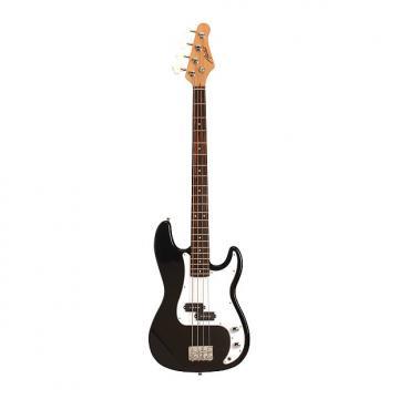 Custom Austin APB200BK Classic Style Black Bass Guitar