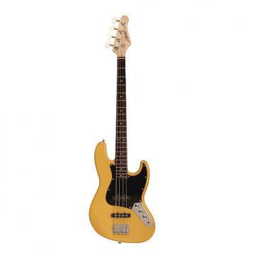 Custom Austin AJB300BC Classic Style Butterscotch Bass Guitar