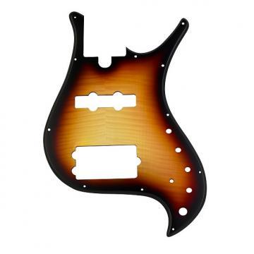 Custom Pickguard for Brubaker  MJX 4 String - Tobacco Burst