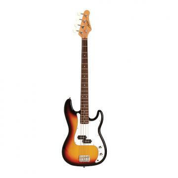 Custom Austin APB200SB Classic Style Cutaway Sunburst Bass Guitar