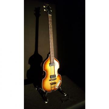 Custom Hofner  Hofner 500/1 V62 reissue violin bass 2007 Dark Sunburst