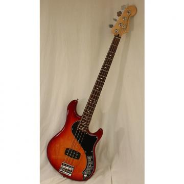 Custom Fender Deluxe Dimension Electric Bass IV  Store Display Aged Cherry Sunburst