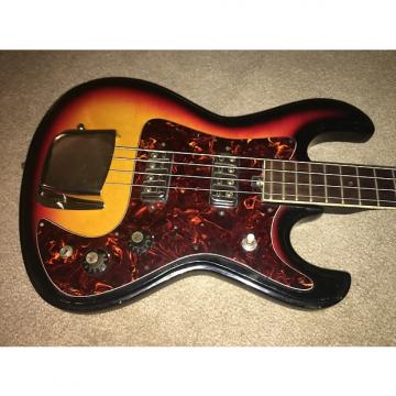 Custom Vintage Global 4-String Short-Scale Electric Bass Guitar & Case
