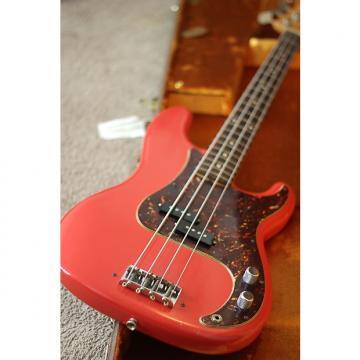 Custom Fender Pino Paladino Custom Shop Precision Bass 2008 Fiesta Red