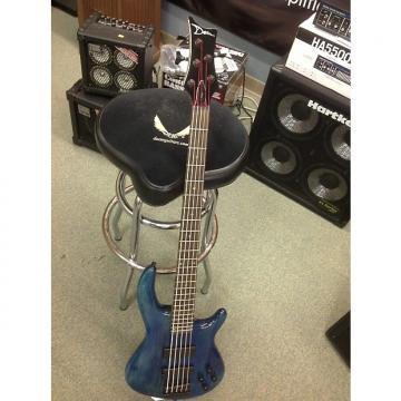 Custom Dean Edged 5 See through blue