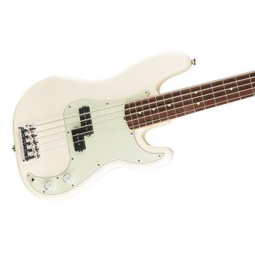 Custom Fender American Pro Precision Bass V 5-String, Rosewood Fingerboard, Hard Case - Olympic White