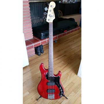 Custom Fender American Deluxe Dimension Bass IV 2014 Cayenne Burst