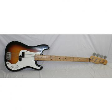 Custom Fender Squier Bullet Bass 1983-1984 3 Color Sunburst with case (1017)