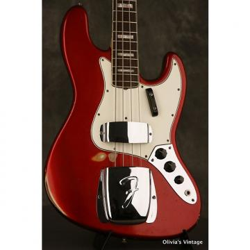 Custom Fender JAZZ BASS custom color 1967 Candy Apple Red