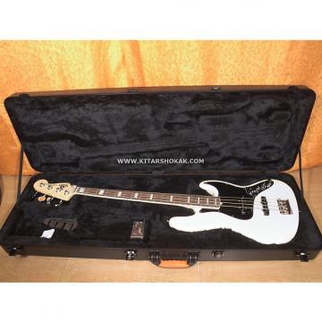 Custom Fender JAZZ BASS AMERICAN DELUXE 2013 Olympic White
