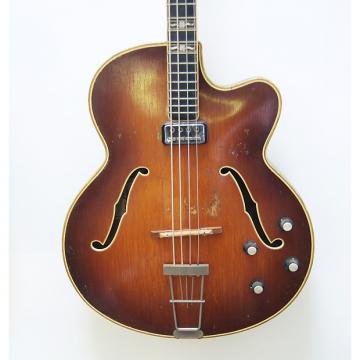 Custom Hofner Committee bass 1963 Maple Sunburst