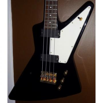 Custom 2009 Epiphone Explorer Bass with EMG pickups & Booster