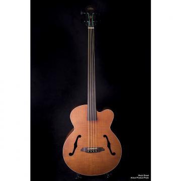 Custom Aria FEB Fretless Acoustic Bass Natural