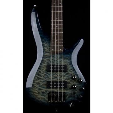 Custom Ibanez SR400EQM SR Standard Series Electric Bass (Fade Blue Burst)
