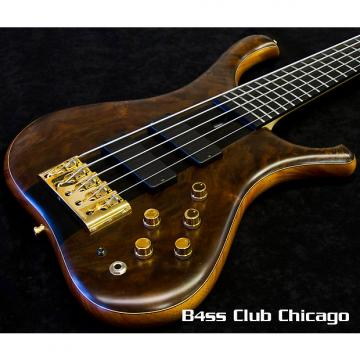 Custom Marleaux Consat Custom 5 Walnut Burl 1935 Natural