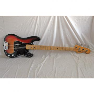 Custom Fender Precision Bass 1973/74 3 Color Sunburst with Fender Case (1013)