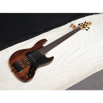 Custom MICHAEL KELLY Element 5-string electric BASS guitar NEW - Striped Ebony