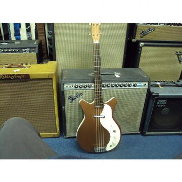 Custom Danelectro  VINTAGE 1960s Short horn Bass mid 1960S Copper