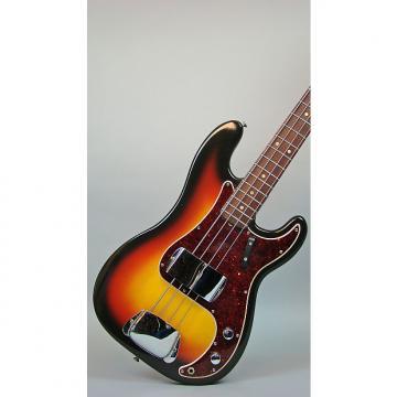 Custom Fender Precision Bass, P-Bass 1966 Sunburst
