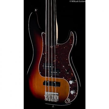 Custom Fender Tony Franklin Fretless Precision Bass 3-Color Sunburst (971)