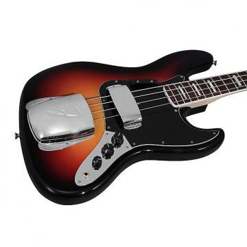 Custom Fender American Vintage 74 Jazz Bass 3-Tone Sunburst