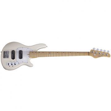 Custom Schecter CV-5 Ivory IVY *Prototype* NAMM Demo 2017 5-String Bass CV5 CV 5