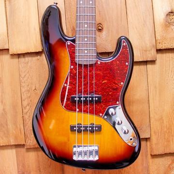Custom 2014 Fender Squier Vintage Modified Jazz Bass - 4 String in 3-Tone Sunburst