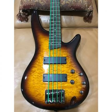 Custom Ibanez SR-400QM 4-String 2015 Brown Sunburst, Mint Condition!