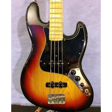 Custom Fender Jazz Bass  1976 3 Color Sunburst
