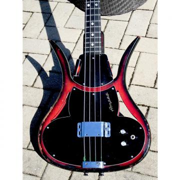 "Custom Ampeg ASB-1 ""Devil Bass"" c.1968 Red/Black Burst"