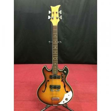 Custom Teisco Ba-2 1960s Natural