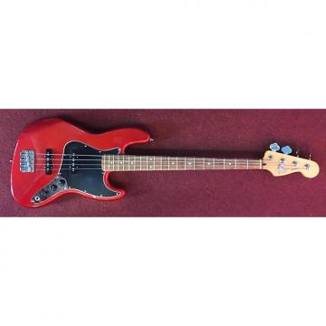 Custom Fender Mexican Jazz Bass 2005-6 Red