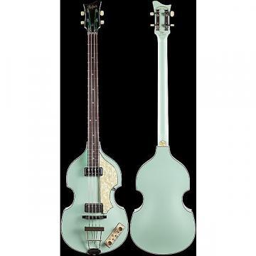 Custom Hofner Custom Shop Violin Bass Vintage '62 Surf Green