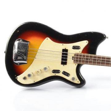 Custom 1968 VOX V263 Hawk IV Electric Bass Guitar w/ Carrying Bag #26423