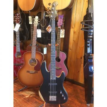 Custom Wolf 2016 Jazz Bass Ebony Fingerboard Black