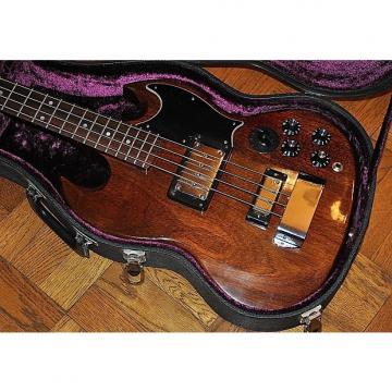 Custom Gibson EB-3 Bass Guitar -1974 -Cherry Finish -Original Gibson Case w/ Purple Plush -No Mods/Repairs