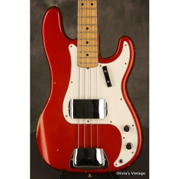 Custom Fender PRECISION P-Bass custom color 1972 Candy Apple Red