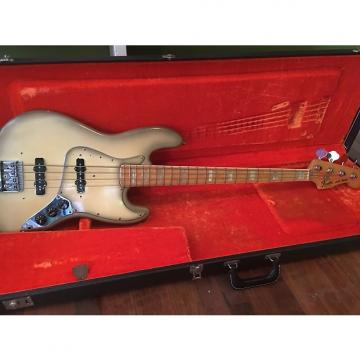 Custom Vintage Fender Jazz Bass 1978 Antigua w/ OHSC & Pickups in Case