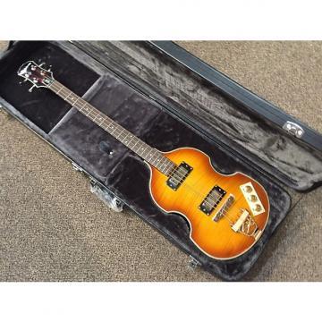 Custom Epiphone Viola Bass VS 2014 OPEN BOX Vintage Sunburst with HardCase