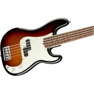 Custom Fender American Professional Precision V 5-String Bass, 3-Color Sunburst, Rosewood Board - 019465070
