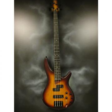 Custom Ibanez SR650 4-String Electric Bass Guitar Flat Brown Burst