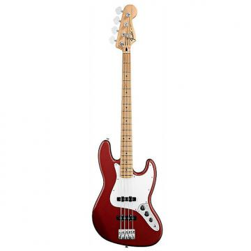 Custom Fender Standard Jazz Bass in Candy Apple Red
