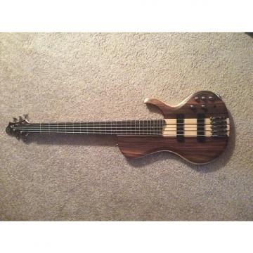 Custom Ibanez BTB 685 Terra Firma 5 String Bass Natural