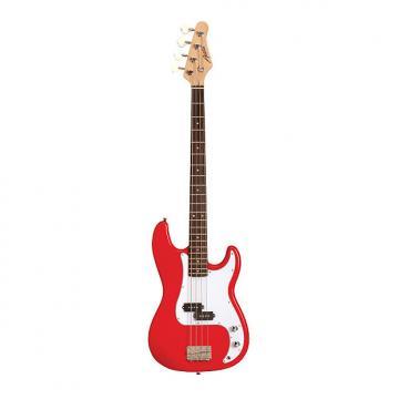 Custom Austin APB200RD Double Cutaway Red Bass Guitar