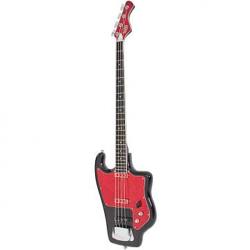 Custom Eastwood Soviet Tonika Bass Guitar Black