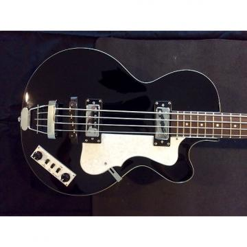 Custom Hofner Club Bass 500/2 Ignition Series 2015 Black